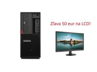 Lenovo TS P330 2gen SFF i7-9700 4.7GHz UMA 16GB 512GB SSD DVD W10Pro cierny 3yOS