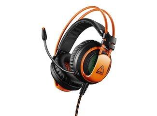 Canyon CND-SGHS5A Corax, herný headset pre expertov, oranžovo čierny