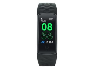 Canyon CNE-SB11BB smart hodinky, Bluetooth, farebný TFT displej 0,96´´,  IP67 vodeodolné, merač tepu, multišport režim,