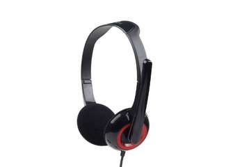 Gembird Stereo headset s mikrofónom, 2 x 3.5 mm miniJack, čierny