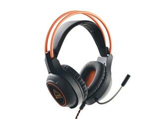 Canyon CND-SGHS7 Nightfall, herný headset pre špičkových hráčov, oranžovo čierny