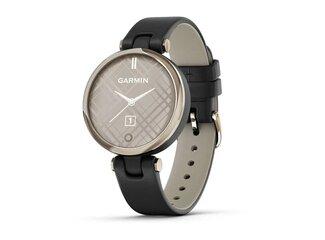 Garmin LILY, Classic, Cream Gold/Black, Italian Leather