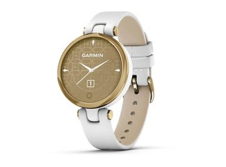 Garmin LILY, Classic, Gold/White, Italian Leather