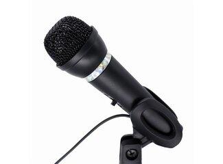 Gembird mikrofón, 3.5 mm jack, s podstavcom, kondenzátorový