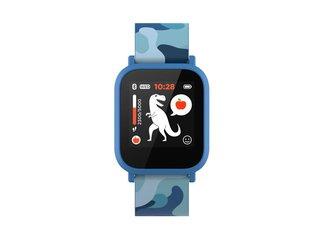 Canyon CNE-KW33BL My Dino smart hodinky pre deti, BT, farebný displej 1.3´´, vodotesné IP68, multišport režimy, virtual