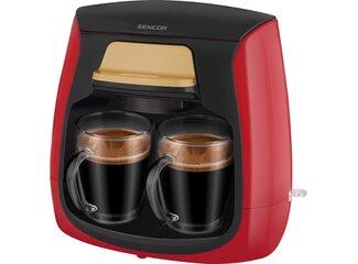 SCE 2101RD kávovar SENCOR - červený