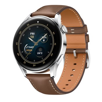 Huawei Watch 3 Brown Leather