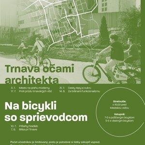 Na bicykli so sprievodcom